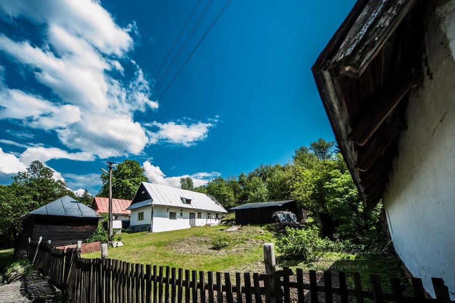 Obec Príkra, Okres Svidník, Najmenšia obec na Slovensku ( fotograf Matúš Vencúrik )
