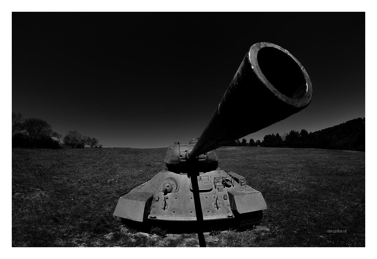 Údolie Smrti, Tanky, Dukla Pass, Death Walley, T-34